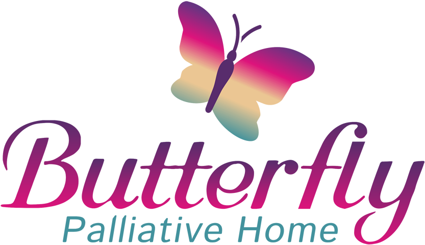 Butterfly palliative home logo