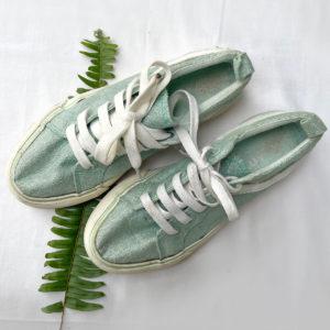 Girls Shimmer Sneakers